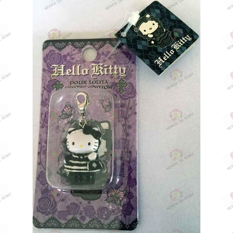 Strap Porte clefs Hello Kitty Pour Lolita Gothic edition by Novala Takemoto limited mascot-2005 boite 2