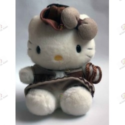 plush Hello Kitty cow girl