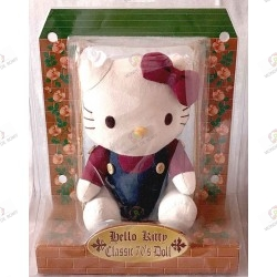 Peluche Hello kitty collector classic 70's doll boite