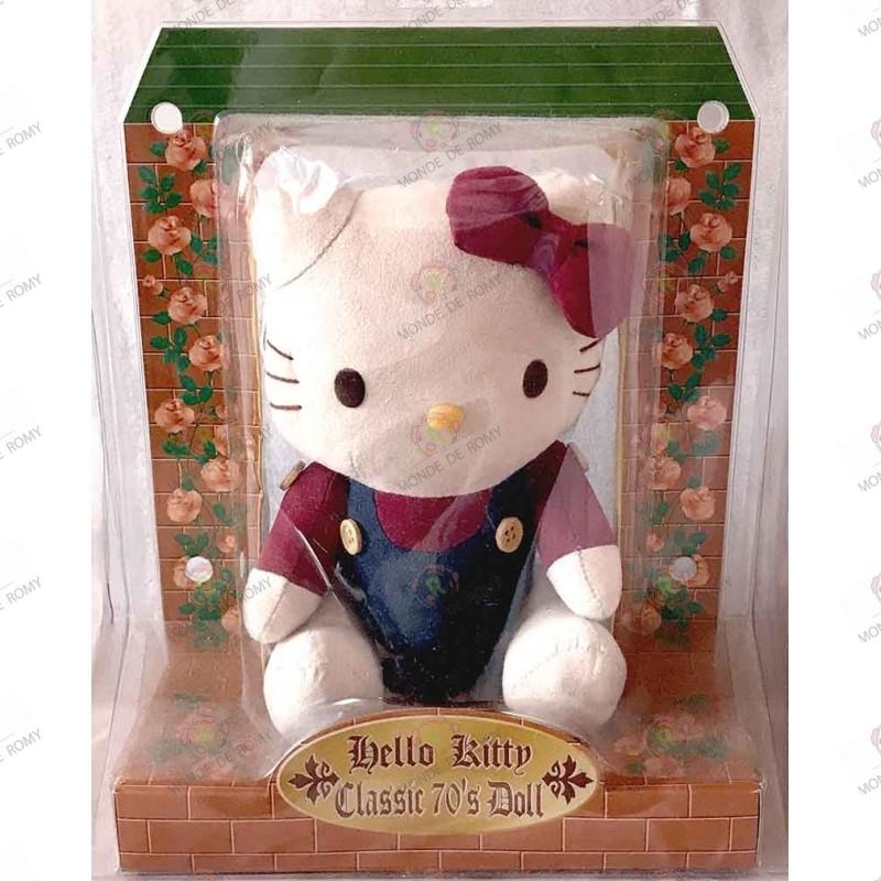 Peluche Hello kitty collector classic 70's doll boite