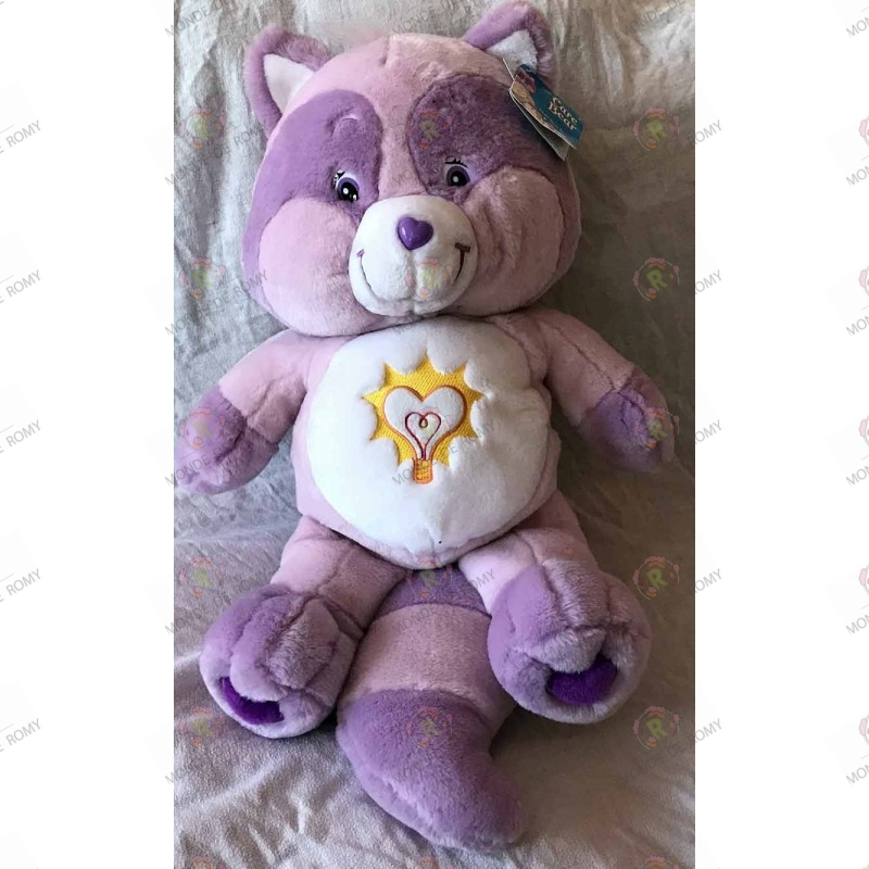 Giant Plush Care Bear- Cousinours Bright Heart Raccoon