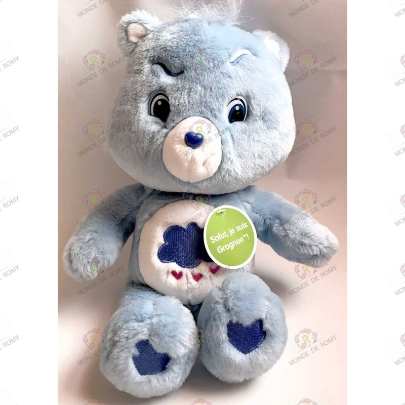 Plush Care bear Grumpy