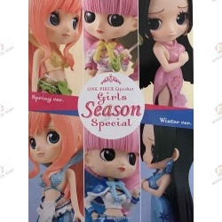 Figurine QPOSKET Boa Hancock Spring pink Version boite dos