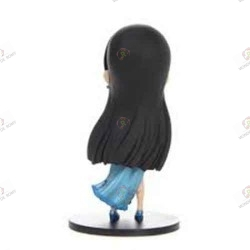 One Piece Figurine QPOSKET Boa Hancock Winter Blue Import Japon dos