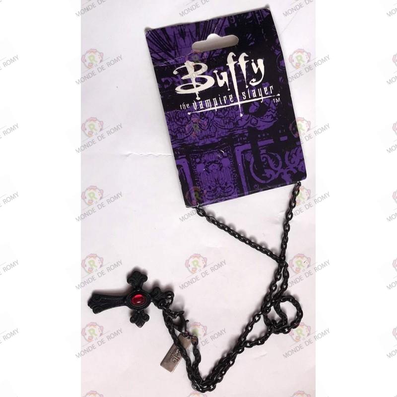 Bijoux Collier Croix Noire Buffy Contre les Vampires