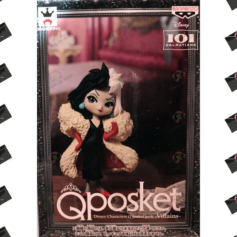 FIGURINE QPOSKET  Disney little  Villains: 101 Dalmatiens Cruella De Vil exclusive japan