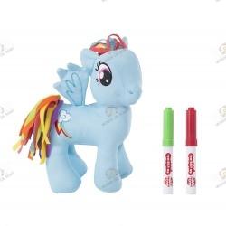 Plush My Little Pony Rainbow Dash Scribble Me