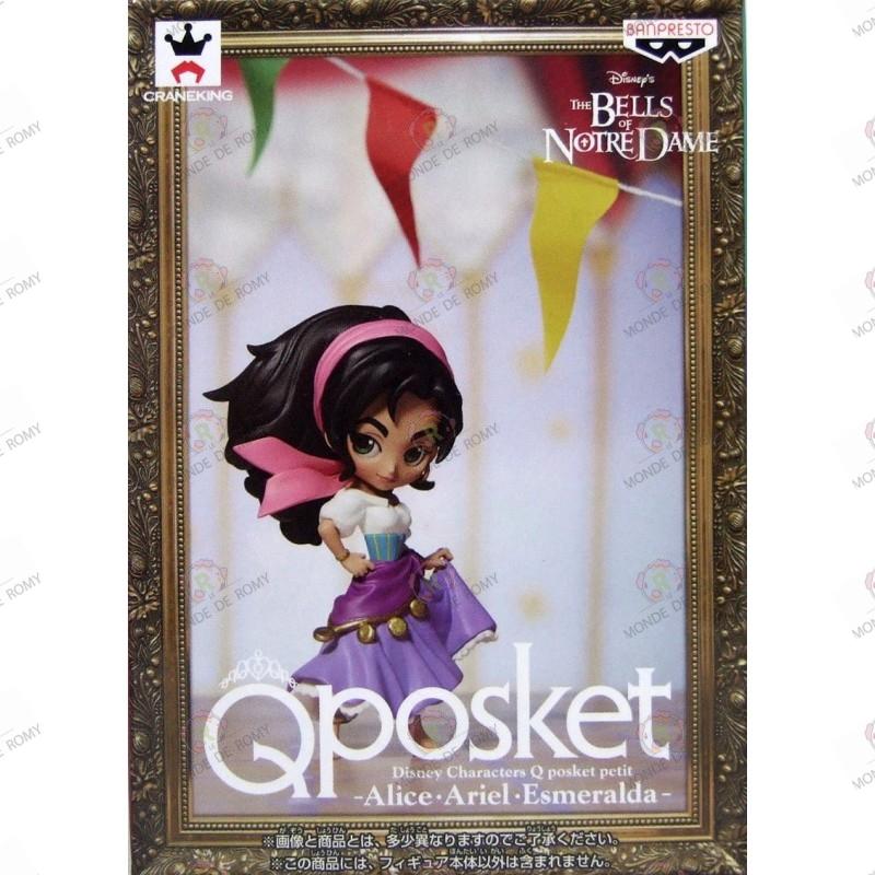 Disney characters QPOSKET Petit: Les Cloches de Notre Dame Esmeralda boite