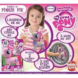 Peluche My Little Pony Pinkie Pie Scribble Me boite 2
