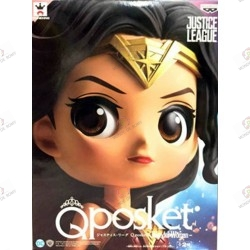 DC COMICS QPOSKET: Justice League, Wonder Woman boite face