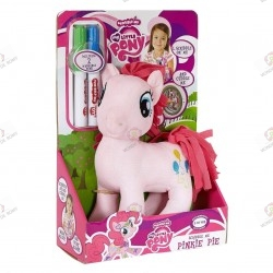 Peluche My Little Pony Pinkie Pie Scribble Me boite