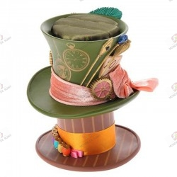 Alice through the looking glass Accessory Cade Chapeau du Chapelier Fou Mad Hatter