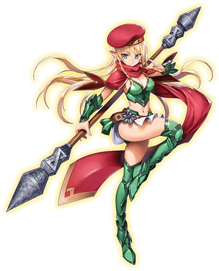 alleyne queen's blade
